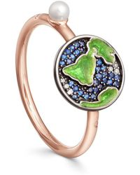 Astley Clarke - Sapphire Earth Closed Ring - Lyst