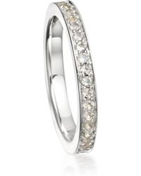 Astley Clarke - Moonstone Eternity Ring - Lyst