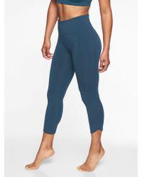 Athleta - Organic Cotton Be Present Capri - Lyst
