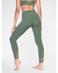 Athleta - Savasana Macrame 7/8 Tight - Lyst