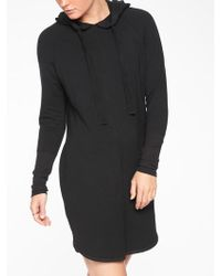 Athleta - Solitude Hoodie Sweatshirt Dress - Lyst