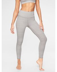 Athleta - High Rise Jacquard Chaturangatm 7/8 Tight - Lyst