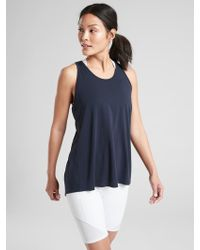 a11654c80b Athleta - Essence Vital Tie Back Tank - Lyst