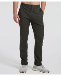 ATM - Stretch Cotton Garment Wash Slim Pants - Lyst