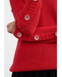 Numph - Damica Pullover Chinese Red - Lyst