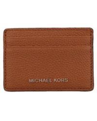 b987e3e09dc8 Michael Kors Michael Mk Signature Flap Wallet in White - Lyst