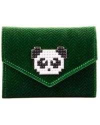 Les Petits Joueurs - Portafoglio Piccolo Panda - Lyst