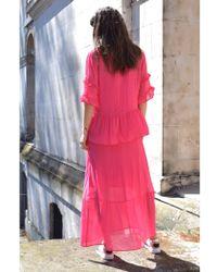 Just Female - Nicole Maxi Dress - Lyst