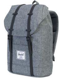 Herschel Supply Co. - Supply Co Retreat Backpack Raven Crosshatch / Black - Lyst