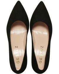 Gestuz - Black Caro Suede Shoes - Lyst