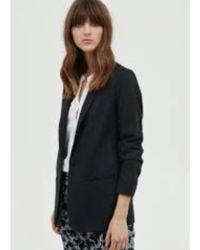 Hartford - Ventila Jacket In Blue Grey Flannel - Lyst