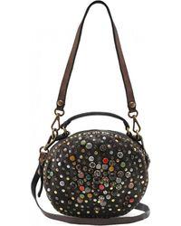 Campomaggi - Leather Embellished Bowling Bag - Lyst