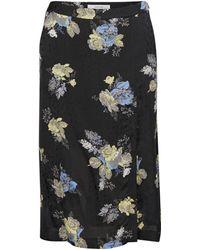 Gestuz - Aia Printed Skirt - Lyst