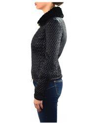Patrizia Pepe - Jacket In Black - Lyst