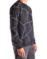 Les Hommes - Sweatshirt In Black - Lyst