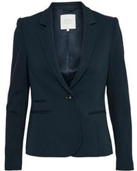 Part Two - Cannes Navy Blazer - Lyst