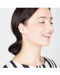 V Jewellery - Pam Stud Earrings - Lyst