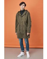Parka London - Parka Finlay Olive Essential Rain Jacket - Lyst