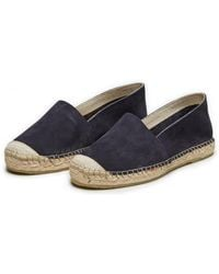 SELECTED - Suede Espadrilles - Lyst