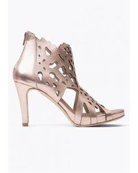 Sargossa - Shades Leather Heels - Lyst