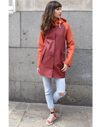 Elka - Rainwear Lyngholm Dusty Bordeaux Jacket - Lyst