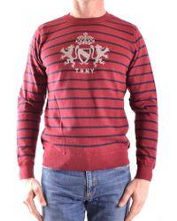 Tommy Hilfiger - Men's Mcbi295010o Red Cotton Jumper - Lyst