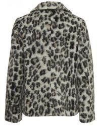 Part Two - Manda Leopard Coat - Lyst