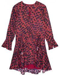 INTROPIA - 5457.640 Dress In Red Print - Lyst