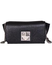 Sonia Rykiel - Women's Black Leather Shoulder Bag - Lyst