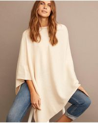 Part Two - Kristanna Cream Poncho - Lyst