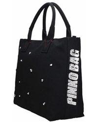 Pinko - Tote Bag In Black - Lyst