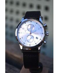 Triwa - Stirling Lansen Chrono Black Classic Watch - Lyst