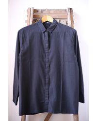 Denham - Icon Black Shirt - Lyst