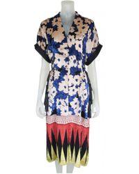 Bl-nk - Nishania Dress In Pale Smoke - Lyst
