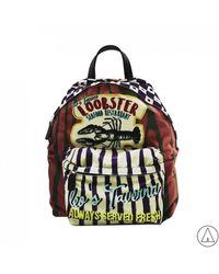 "Leo - • ""loobster"" Printed Backpack - Lyst"