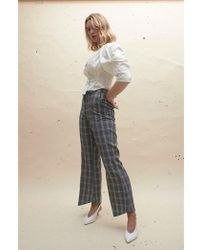 House Of Sunny - Slim Tailored Trousers - Lyst