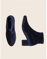 Stine Goya - Velvet Portland Boots - Lyst