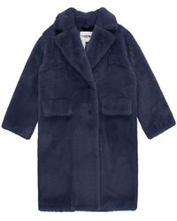 Essentiel - Antwerp Remire Faux Fur Coat - Lyst