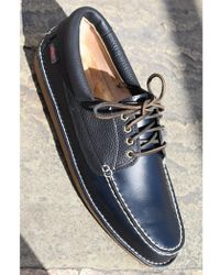 G.H. Bass & Co. - Wilton Driver Black Leather Shoes - Lyst