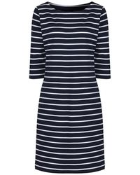 GANT - Women's Striped Sailor Dress - Lyst