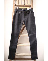Denham - Sharp Black Skinny Fit Jeans - Lyst