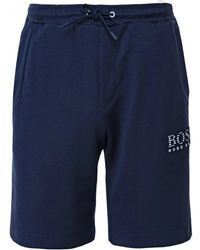 28c75d63 BOSS Headlo 1 Shorts in Gray for Men - Lyst