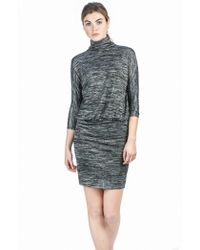 Lilla P - 3/4 Sleeve Blouson Dress - Lyst