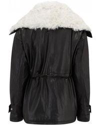 IRO - Rollinger Shearling Jacket In Black - Lyst