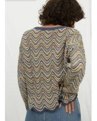 M.i.h Jeans - Arlo Sweater In Multi - Lyst