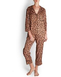 Love Stories - Star Print Pyjama Pants - Lyst