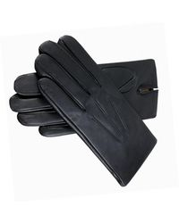 Dents - Men's Bath Cashmere Lined Leather Gloves - Lyst