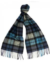 Barbour - Lifestyle New Check Tartan Scarf - Lyst