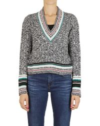 Dondup - Sweater In Grey - Lyst