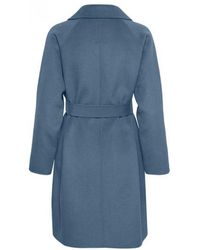 Part Two - Misty Vintage Indigo Wool Coat - Lyst